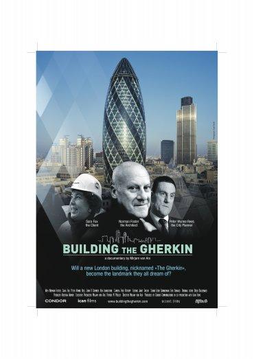Building The Gherkin Plakat/DVD-Umschlag