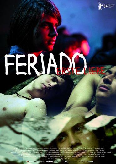 Plakat Feriado. Erste Liebe