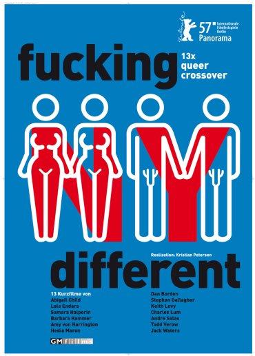 fucking different New York Plakat
