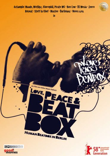 love, peace and beatbox DVD-Umschlag