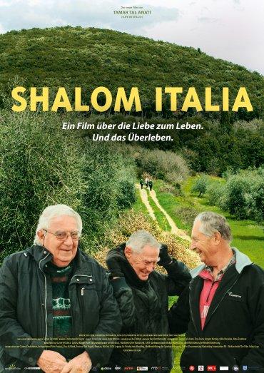 Shalom Italia Plakat