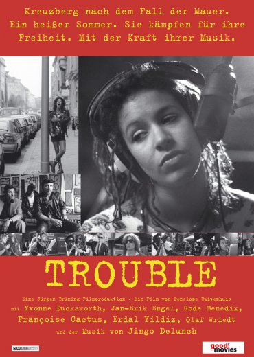Trouble DVD-Umschlag